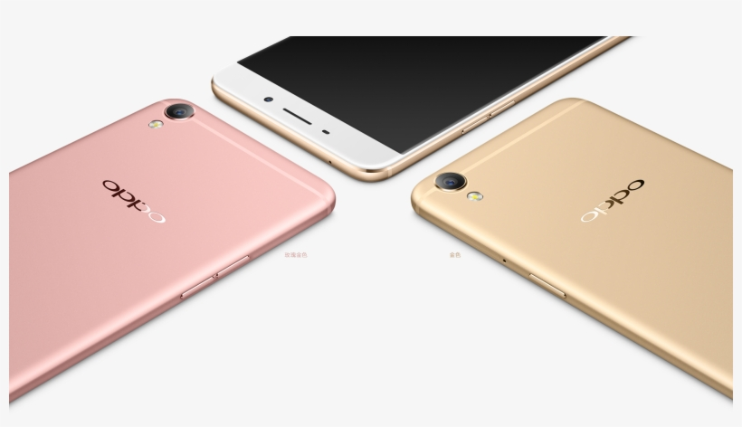 【oppo R9 - Oppo F1 Plus Rose Gold Vs Gold, transparent png #2619116