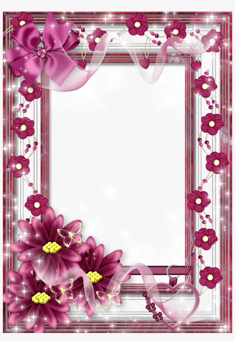 beautiful flowers photo frames free transparent png download pngkey beautiful flowers photo frames free