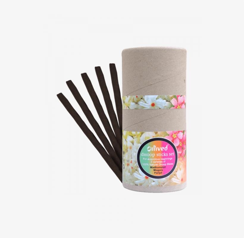 Omved Dhoop Sticks Set Of 30 Sticks - Padmini Dhoop Sticks 12 Boxes Of 10 Sticks Each, transparent png #2624773