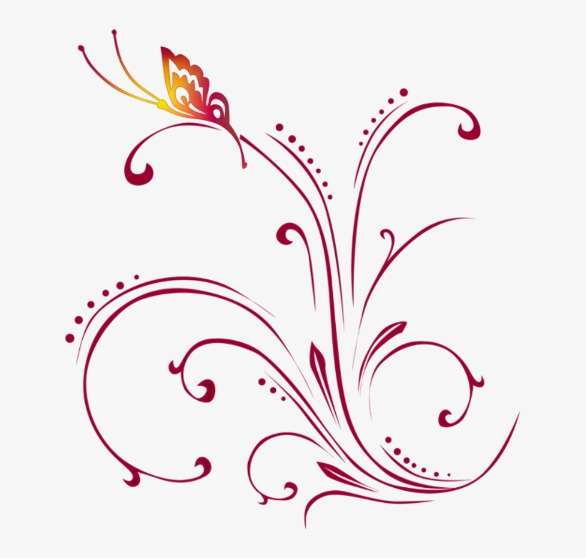 Syed Imran - Floral - Floral Borders And Frames, transparent png #2625065