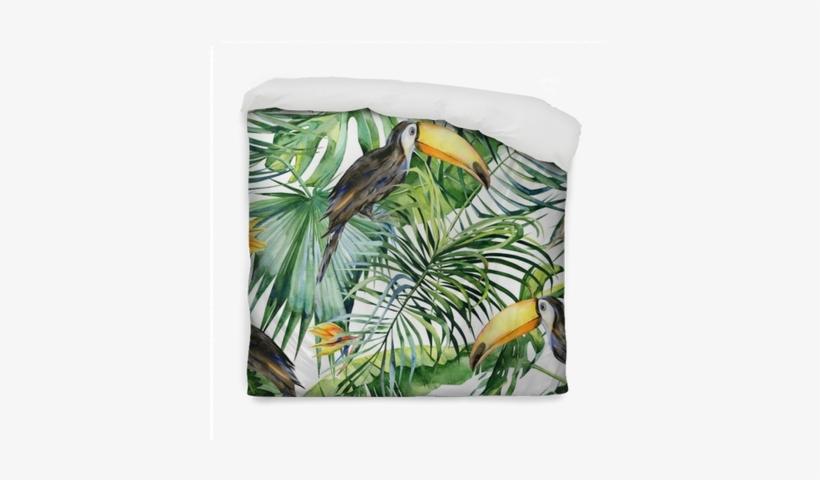 Tropical Leaves, Dense Jungle - Watercolor Illustration Free Jungle, transparent png #2626230