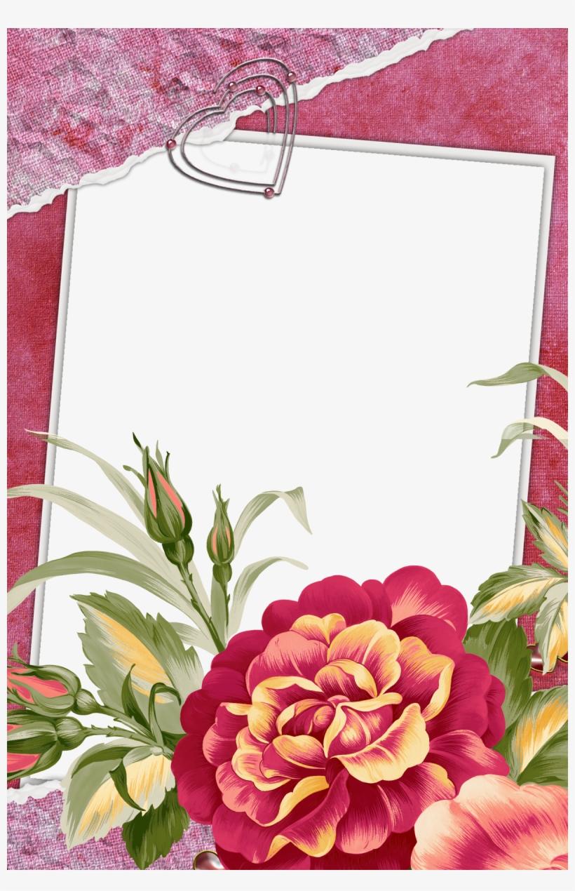 Beautiful Flowers Photo Frames, transparent png #2627949