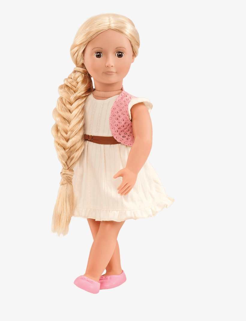 Our Generation Dolls Phoebe Blonde Hair Grow Doll, transparent png #2629402