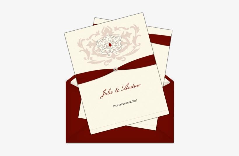 Letter Style Email Wedding Invitation Design Style - Wedding Invitation, transparent png #2629512