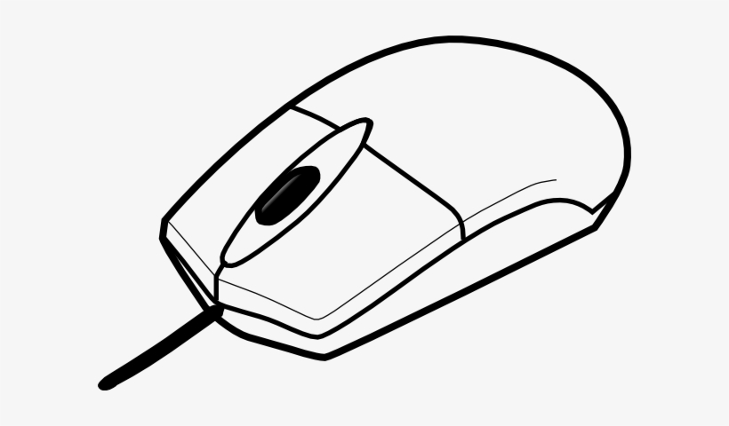 Picture Black And White Stock Basic Clip Art At Clker - Clip Art Of Computer Mouse, transparent png #2629653