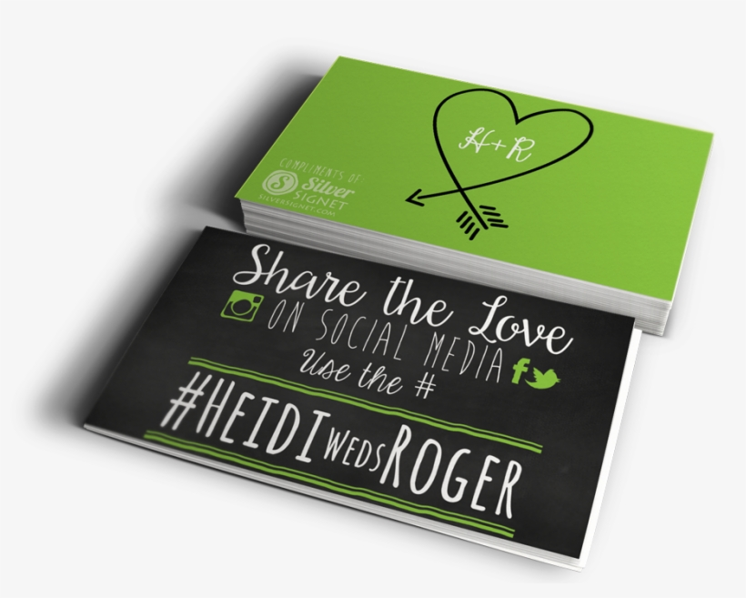 Hashtag Wedding Cards - Hashtag Cards, transparent png #2629761