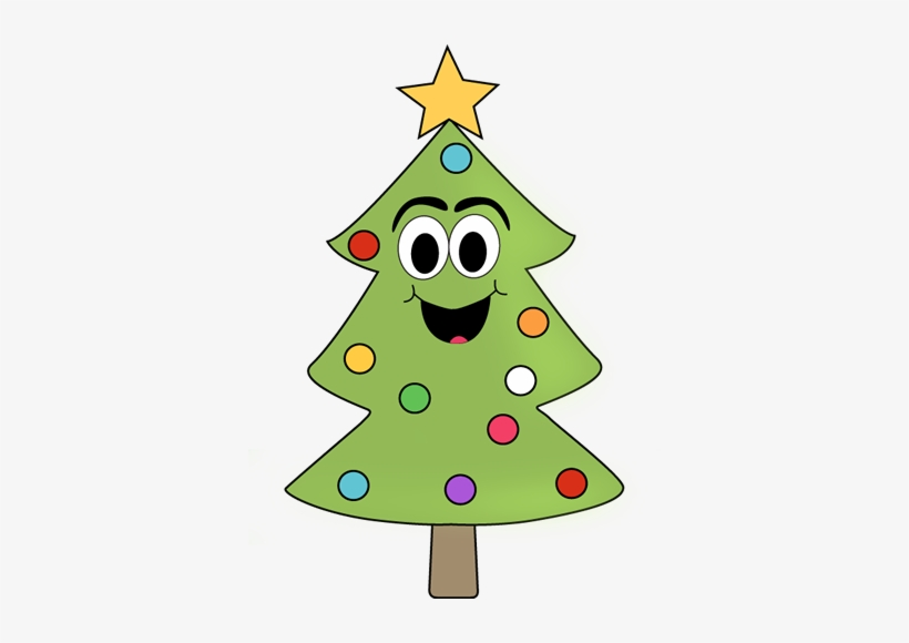 Cartoon Christmas Tree - Snow Christmas Clipart, transparent png #2631688