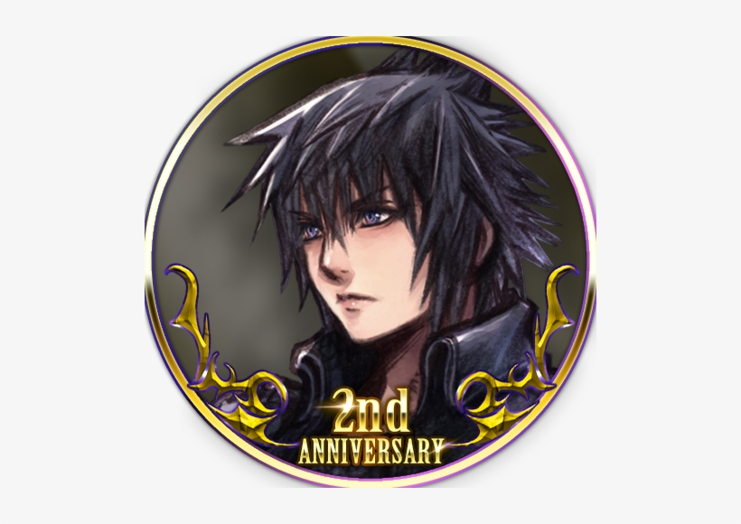 Hah, He Hit A Piece Of Noctis' Original Red Eyes From - Final Fantasy Xv, transparent png #2634536