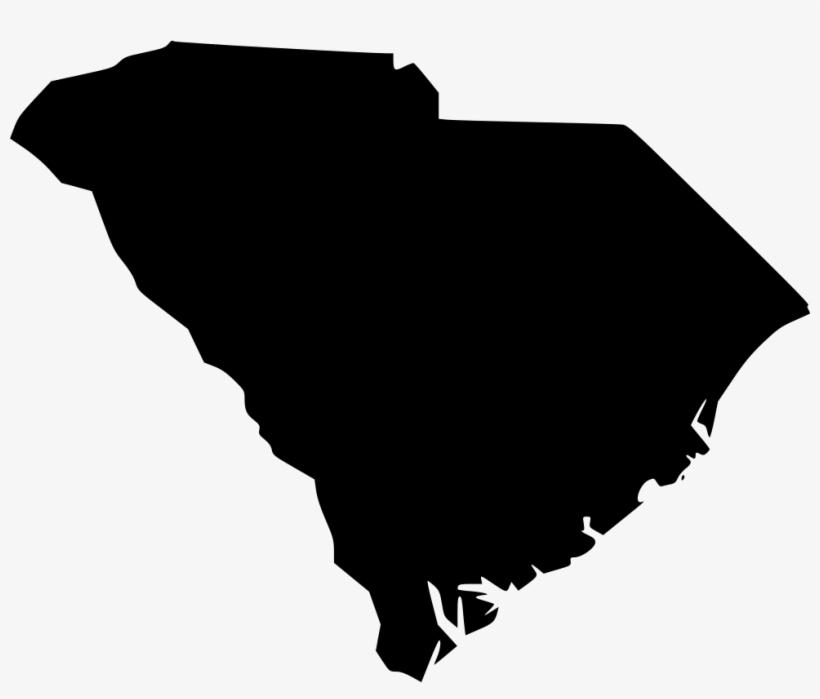 South Carolina Sc - South Carolina Silhouette, transparent png #2638731