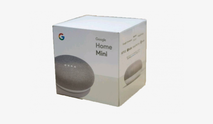 Google Home Mini Speaker- Portable Smart Speaker With - Google Home Mini, transparent png #2640678