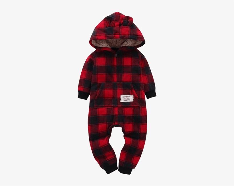 03af68694955 Petite Bello Romper 0-6 Months Red Plaid Romper - Baby Clothing Winter  Bodysuit Boys