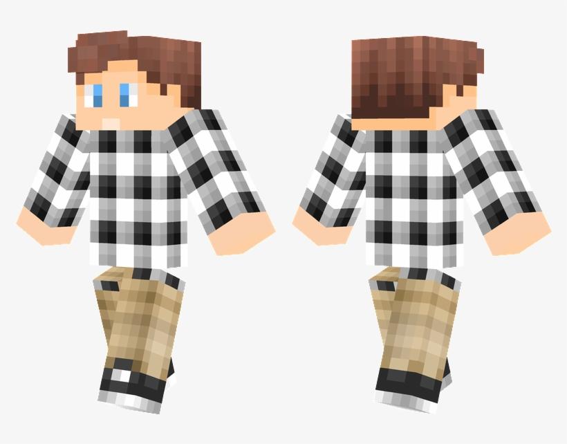 Plaid Boy Minecraft Skins Plaid Free Transparent Png Download