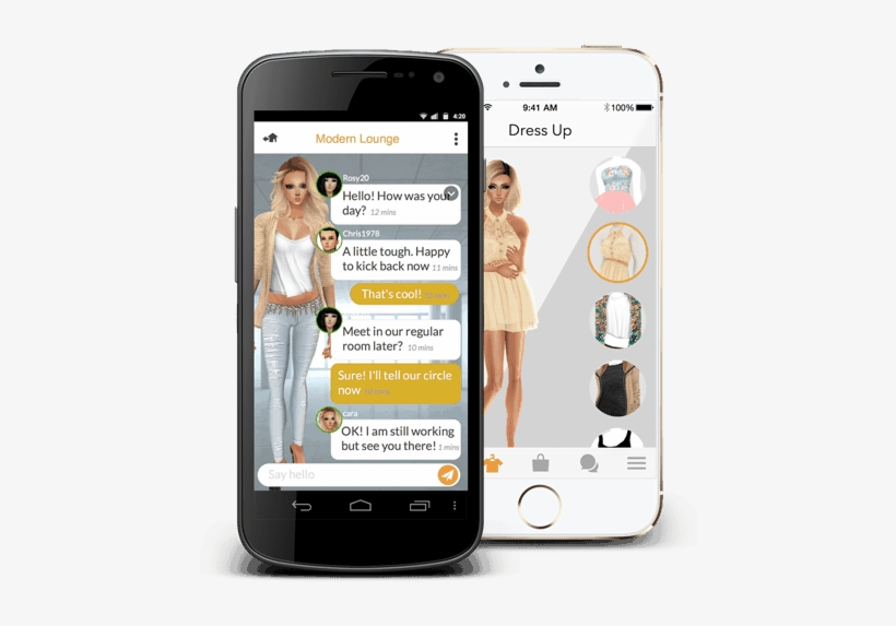 Imvu Is An Avatar Based Chat Room App Which Has Brought