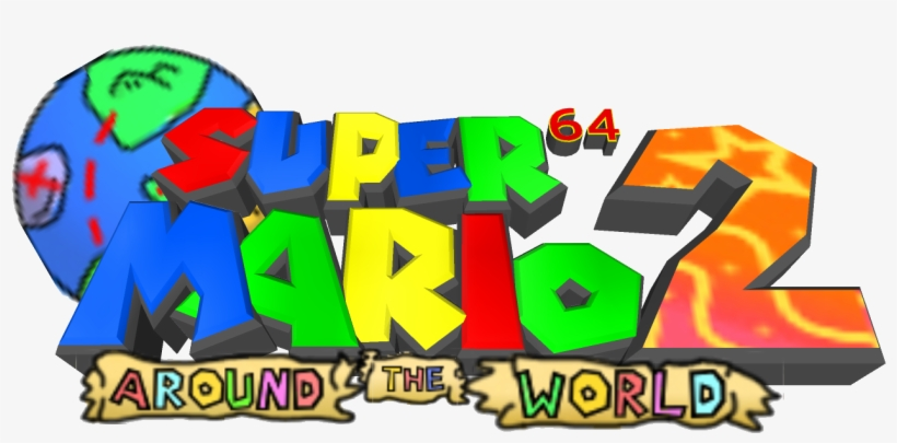 "A Fan Project Of Mine ""super Mario 64 2 - Graphic Design, transparent png #2644577"
