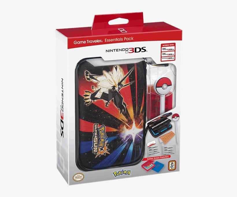 Nintendo 3dsxl Game Traveller Essentials Pack - Nintendo 2ds Game Traveler Essentials, transparent png #2646108
