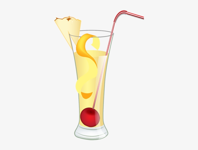 Drink And Beverage Clipart Clipart Fancy Cocktail Drink - Iced Beverage Png Clipart, transparent png #2650019