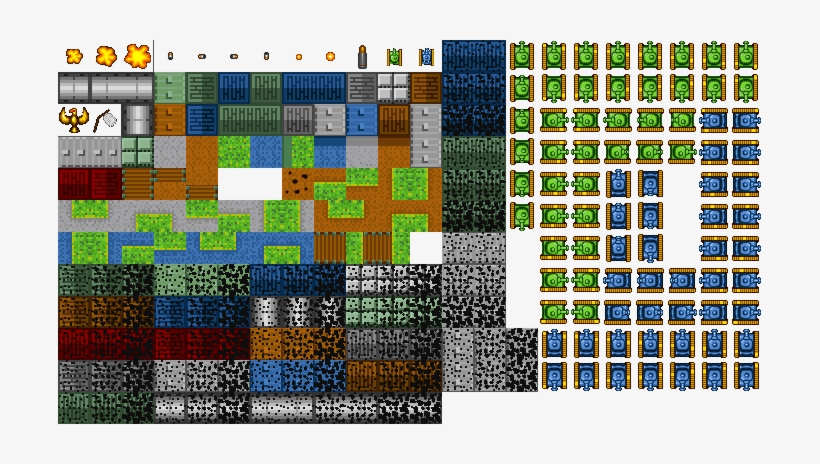 Tiles - Map Sprite Png - Free Transparent PNG Download - PNGkey