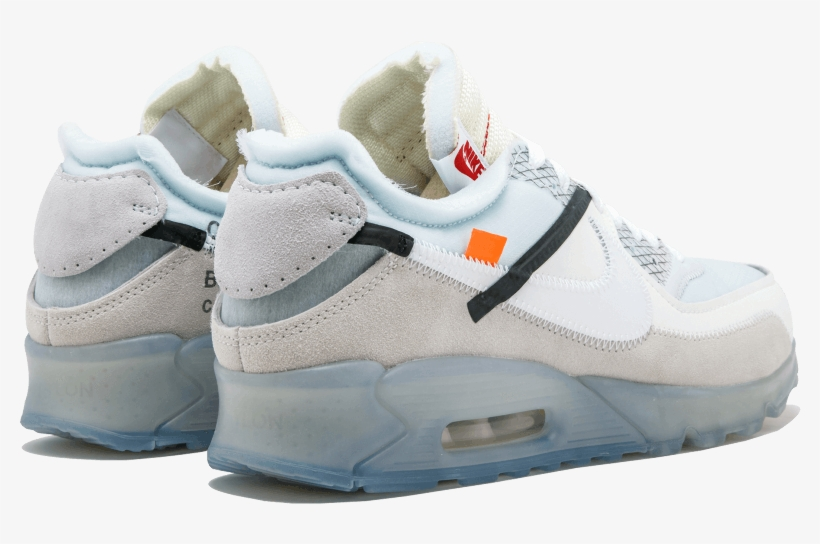 Nike Air Max 90 X Off-white - Nike The 10 Air Max 90 Mens 'off-white, transparent png #2657362