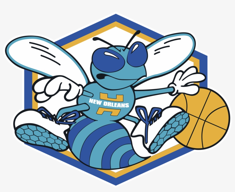 New Orleans Hornets Logo Png Transparent - New Orleans Hornets Logo 1 1, transparent png #2657895