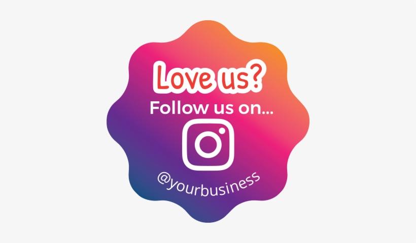 Like Us On Instagram Sticker, transparent png #2658889