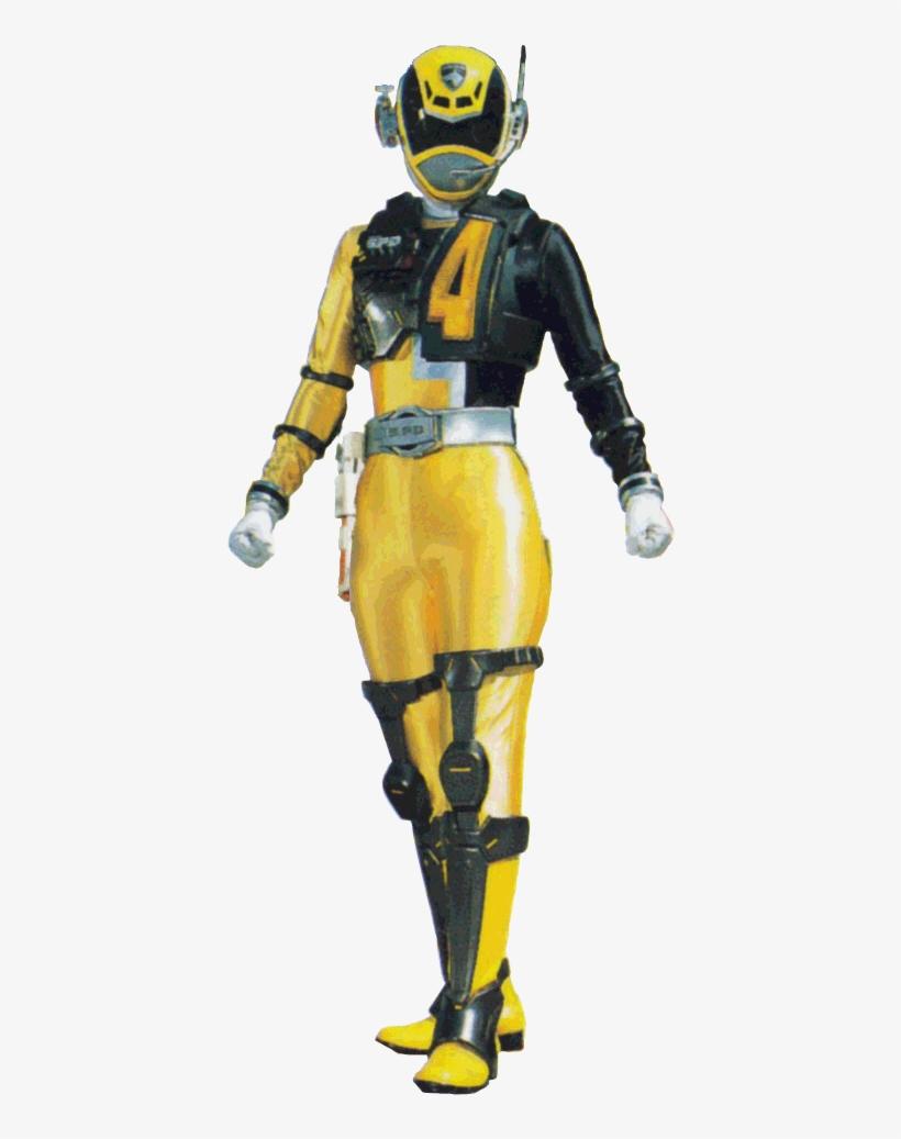 Deka Yellow Swat Neo - Power Rangers Spd Yellow Ranger Swat Mode, transparent png #2660486