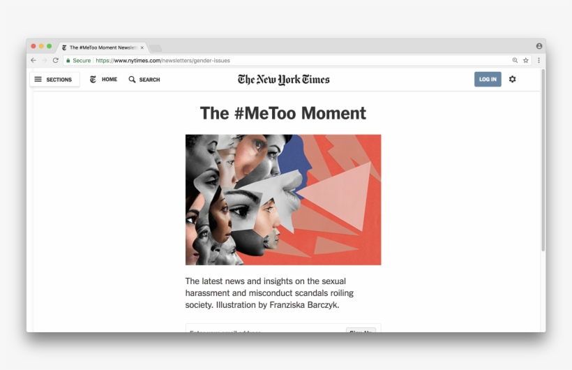 The - New York Times, transparent png #2660754