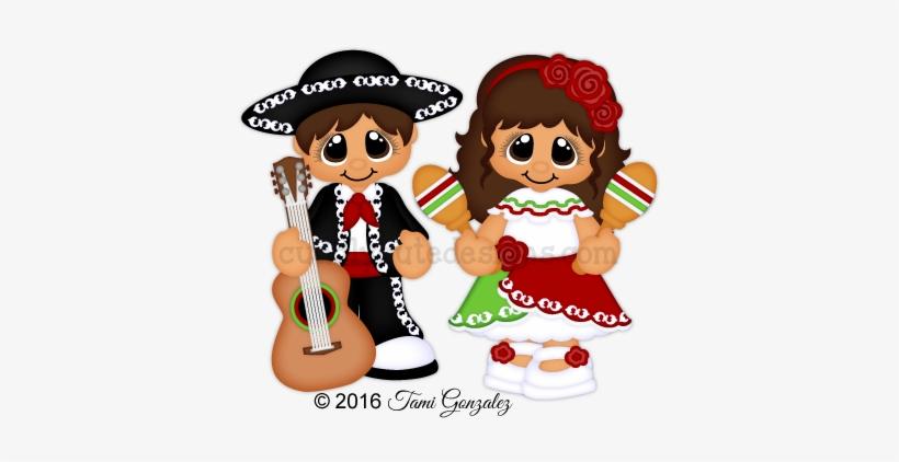 Png Free Cinco De Mayo Clipart Fiesta Mexicana - Imagenes De Muñequitos Para Fiestas Patrias De Mexico, transparent png #2664126