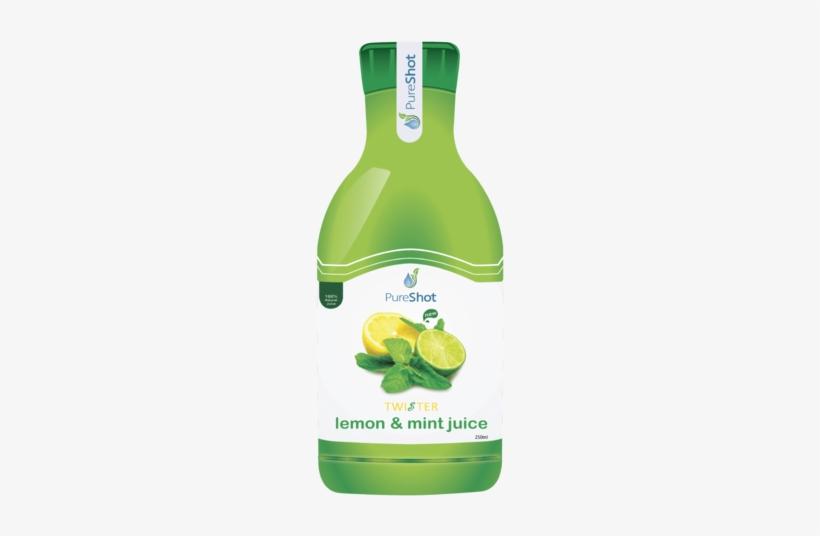 Lemon And Mint Juice - 2-in-1 Manual Juicers By Prepara - 2-in-1 Juicer, transparent png #2665882