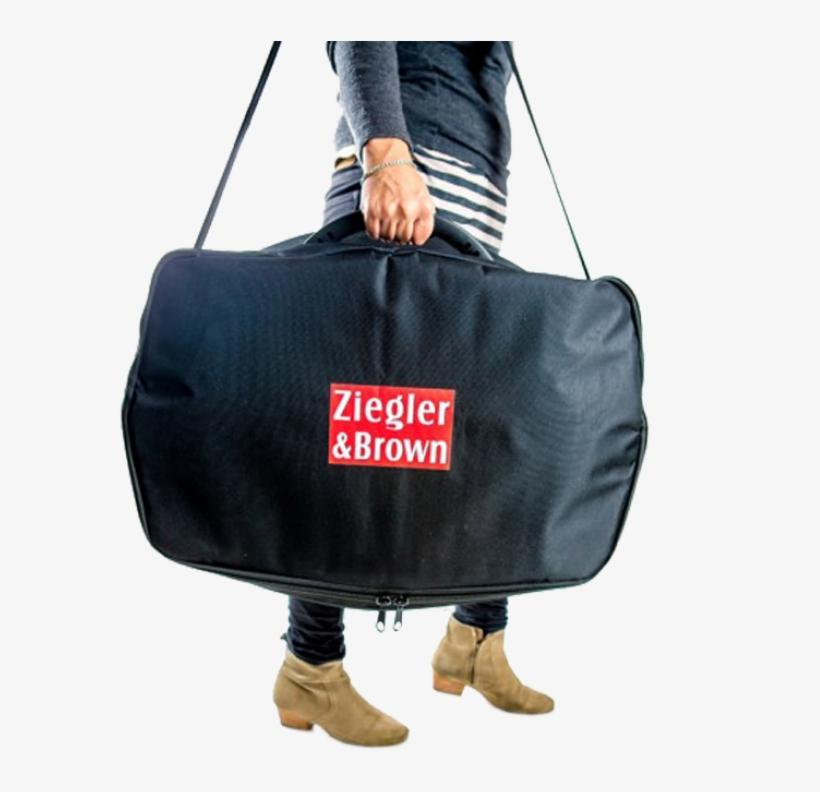 Ziegler & Brown Carry Bag - Ziegler & Brown Carry Bag - Portable Grill, transparent png #2666780