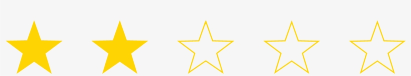Star Rating 02 3 And Half Stars Free Transparent Png Download