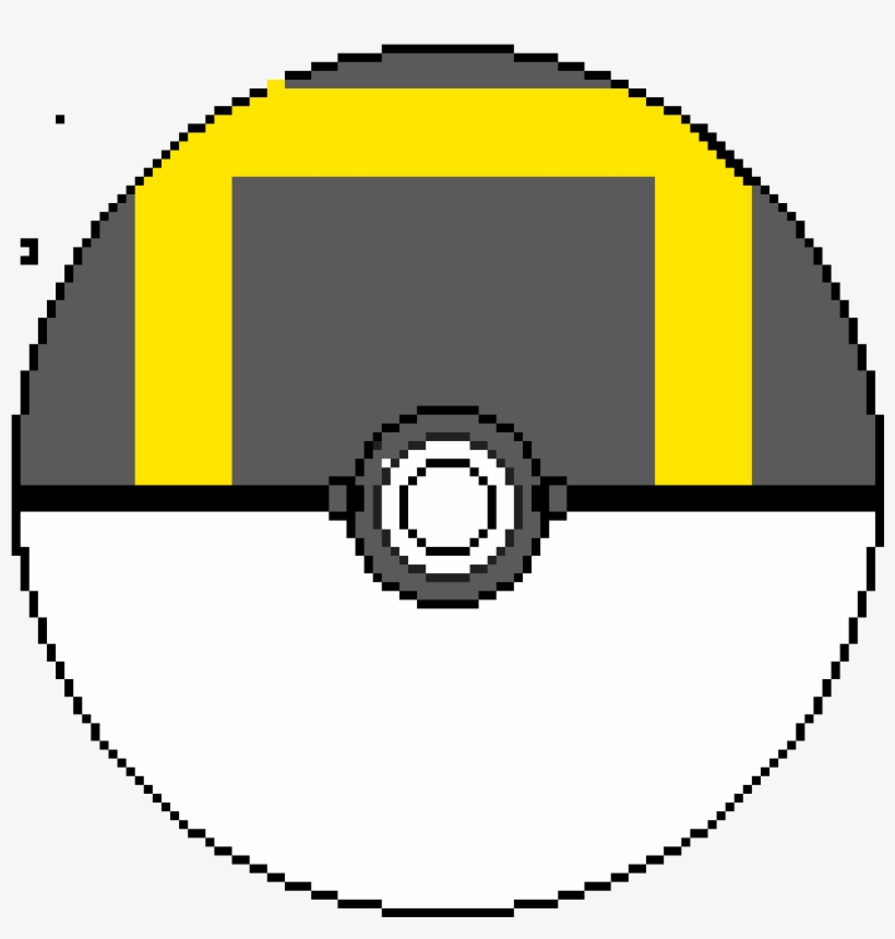 Ultra Ball - Pixel Art Circle Terraria, transparent png #2670537