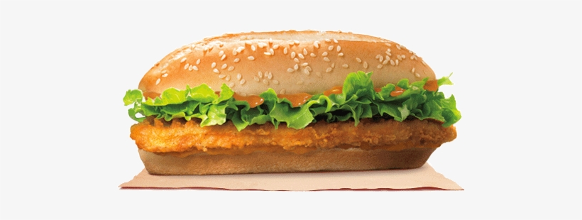 A Hot Twist On A Cool Classic - Breaded Chicken Fillet Sandwich, transparent png #2670721