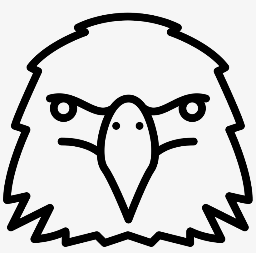 Eagle Head - - Easy Spirit Animal Art, transparent png #2672303