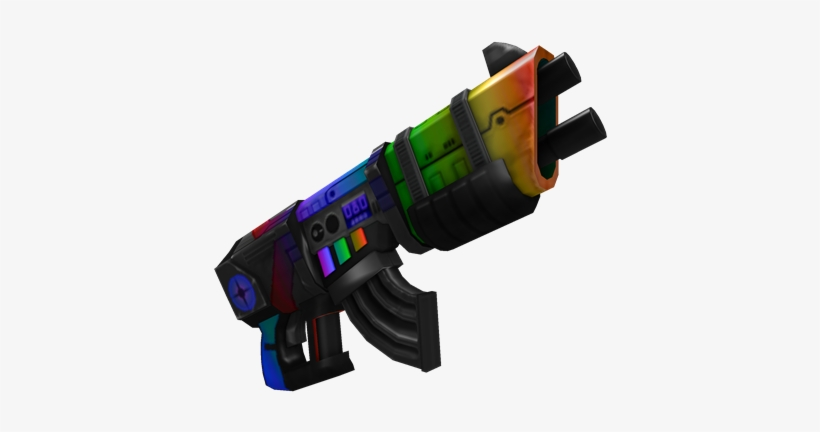 Rainbow Six Siege On Roblox Omega Rainbow Laser Blaster Roblox Guns Free Transparent Png Download Pngkey