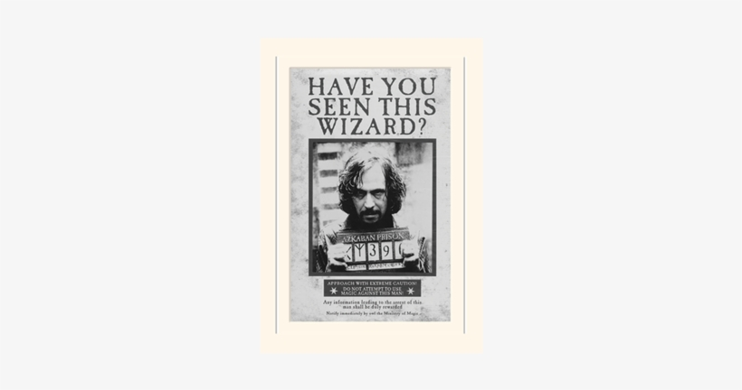 Sirius Black - Harry Potter Poster Sirius Black, transparent png #2674567