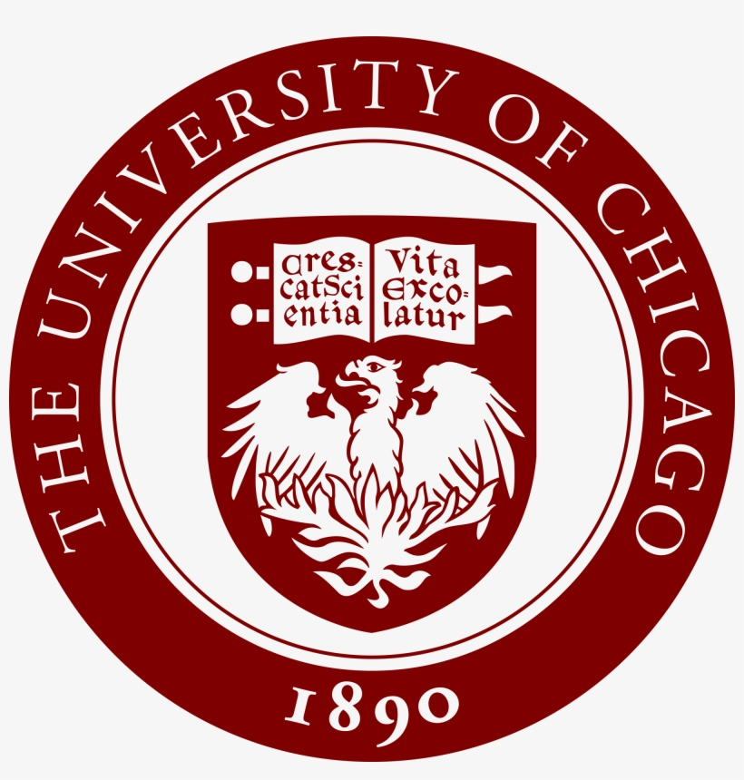 Really Like The Circle Around The Shield With The School - U Of Chicago Logo, transparent png #2678486