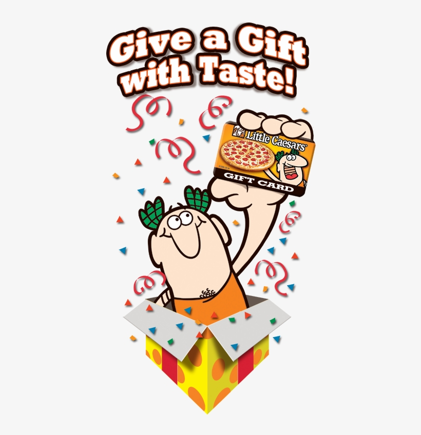 Little Caesars Pizza, Known For Its Hot N Ready® Pizza - Little Caesars Gift Cards, transparent png #2680038