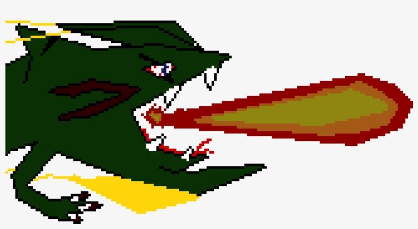 Garchomp Sharpedo Mega Rayquaza Combo Pixel Art Free