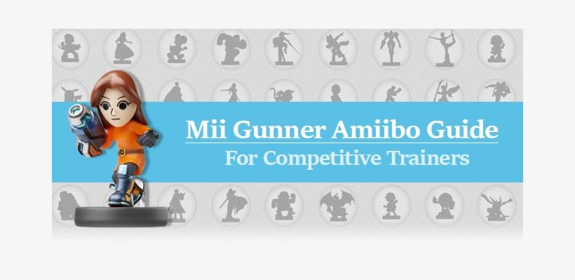 Amiibo Super Smash Bros - Mii Gunner (nintendo Wii, transparent png #2681755