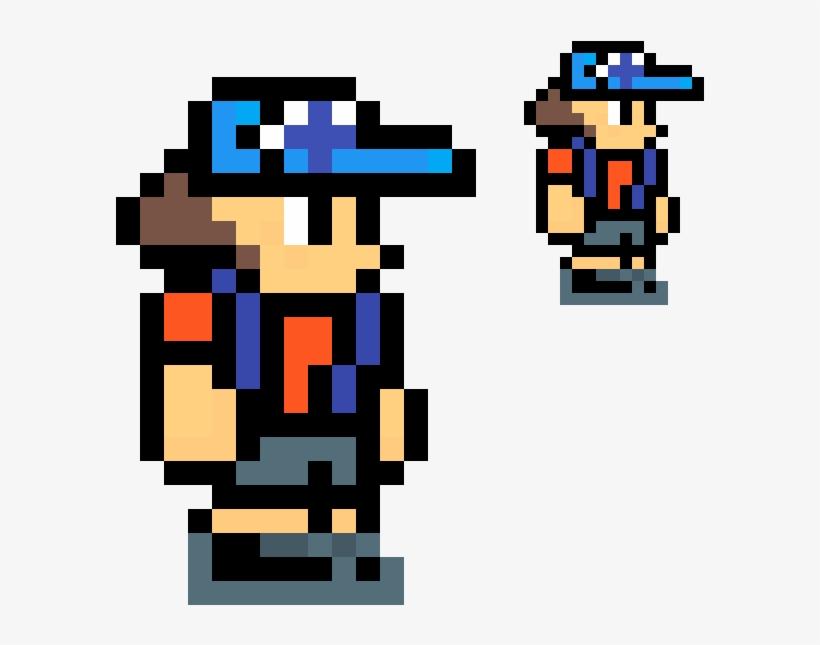 Dipper Pines Terraria Pixel Art - Pixel Character No Background, transparent png #2682864