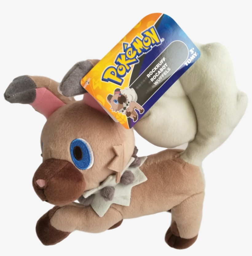 Official Pokemon 8 Rockruff Plush Pokemon Jirachi Wish Maker