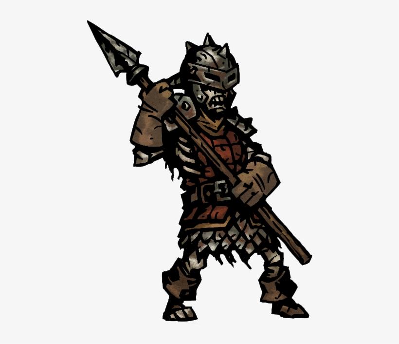 Dark Dungeons - Bone Lancer Darkest Dungeon, transparent png #2683552
