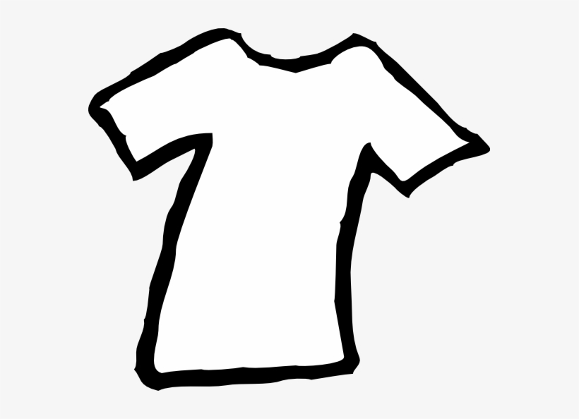 Clothes Black And White Clipart Kid - Clothes Clipart Black And White Png, transparent png #2683861