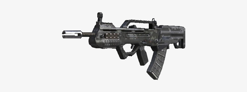 In Game The Type-25 Is A Low Damage, Low Recoil, Fast - Assault Rifles Black Ops 2, transparent png #2684278