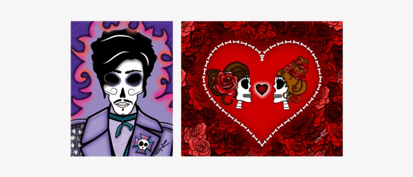 Austin Artist Ladi Loera Will Bring His Día De Los - Prince Day Of The Dead, transparent png #2684707
