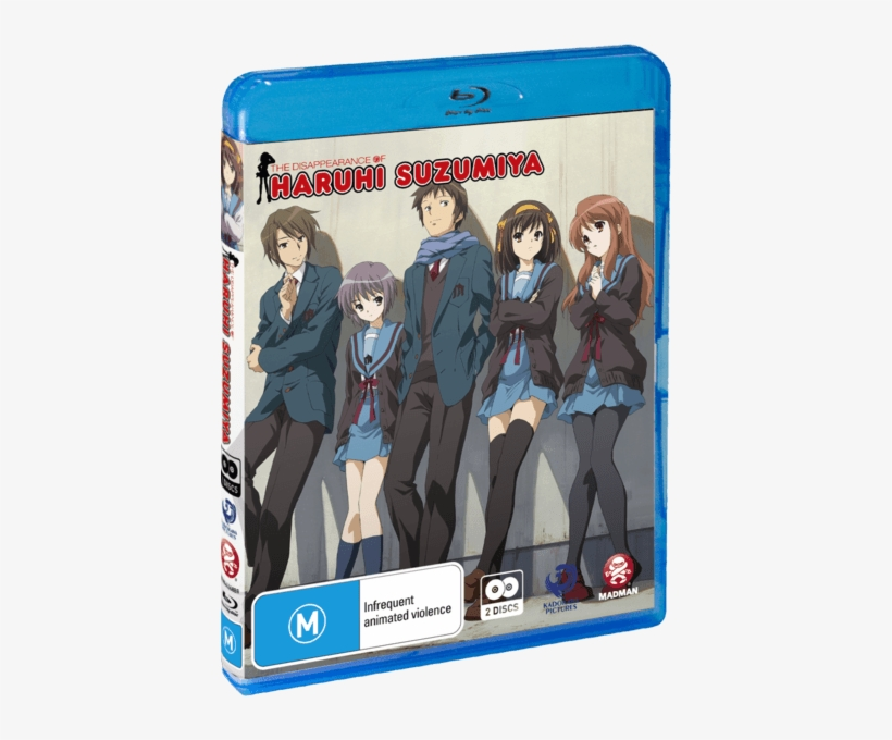 The Disappearance Of Haruhi Suzumiya Cover - Haruhi Suzumiya The Movie, transparent png #2688144