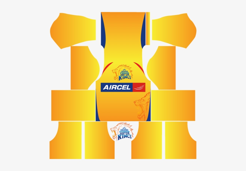 Csk Kits For Dream League Soccer - India Kit For Dream League - Free