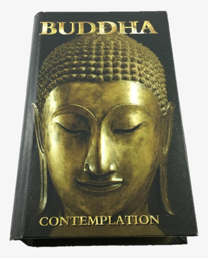Buddha Box - Large - Cadre Carré En Toile Bouddha 40 Cm, Couleur Unique, transparent png #2691585