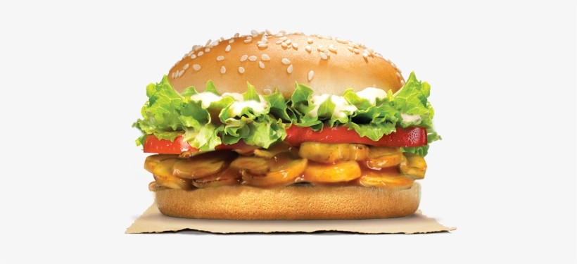 Here's An Option For Our Veggie-loving Friends Our - Tender Chicken Burger King, transparent png #2692328