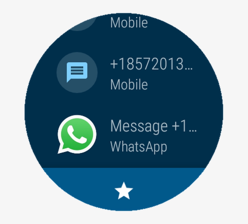 The Android Wear Line Up Does Not Get As Much Love - Whatsapp Messenger, transparent png #2692490